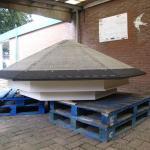 Onderlaag van de dakbedekking